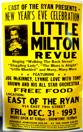 Little Milton poster