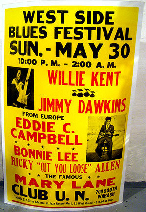 West Side Blues Fest poster